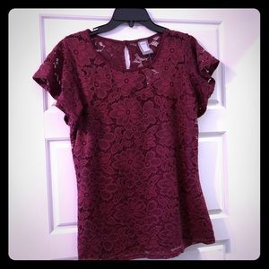 NWOT Anthro Guest Editor Lace Top